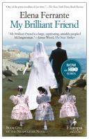 My brilliant friend: book one : childhood, adolescence