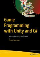 Game Programming with Unity and C#